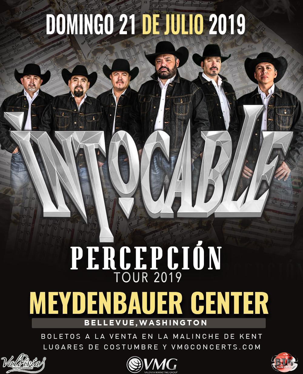 Intocable – Percepción Tour 2019 – Meydenbauer Center – Bellevue, WA