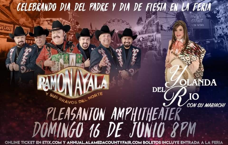 Ramon Ayala y Yolanda Del Rio – Pleasanton Amphitheater – Pleasanton, CA