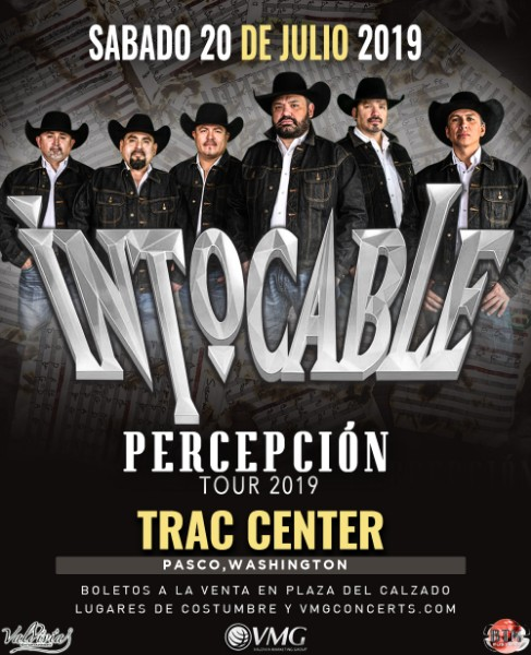 Intocable – Percepción Tour 2019 – Trac Center – Pasco, WA